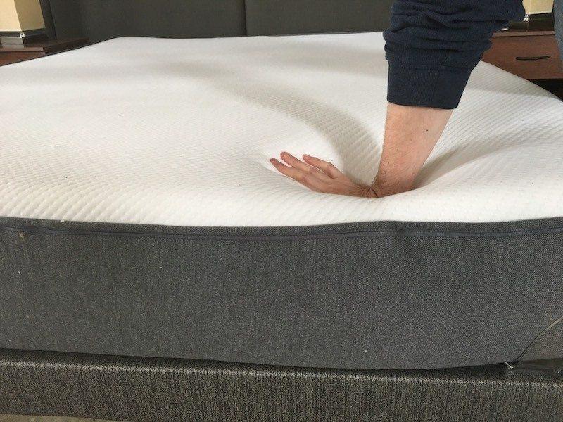 Casper mattress sinkage